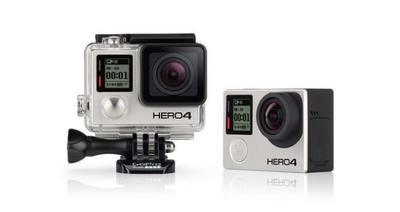 Anunciada una actualización para las GoPro Hero4 Black y Silver