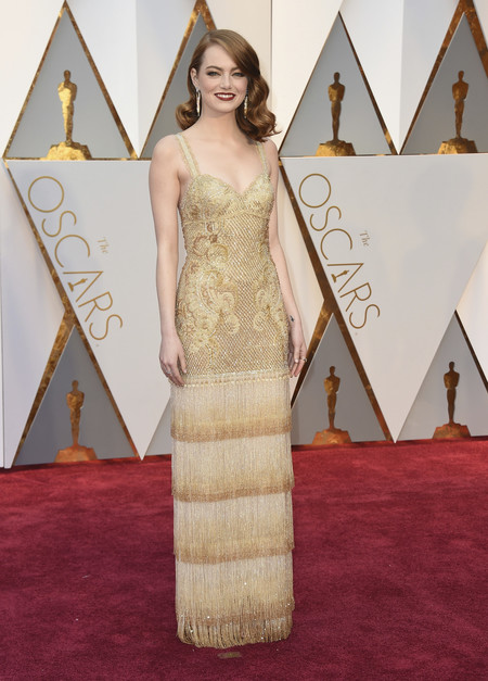 Oscars 2017: Ondas marcadas también para Emma Stone