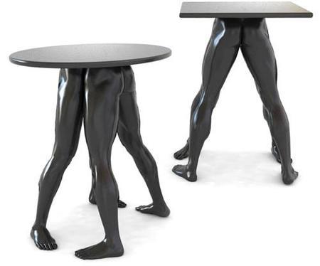 Muebles con piernas... en vez de patas