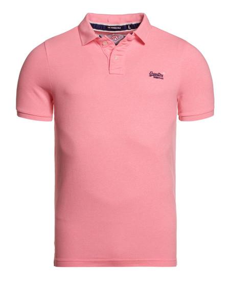 Superweekend Ebay: polo de piqué Superdry en color rosa por 21,95€ con envío gratuito