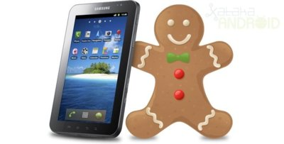 Samsung Galaxy Tab ya con Android 2.3.3 Gingerbread