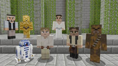 Minecraft Star Wars Pack (2)