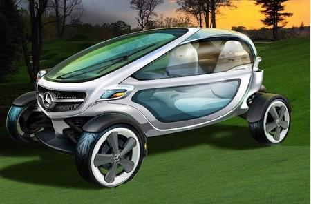 ¿Quieres jugar a golf mientras conduces un carrito Mercedes-Benz? Quizás en un futuro próximo