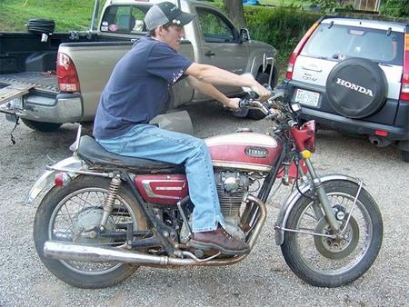 Yamaha XS2 de Tevan, antes