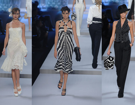 Christian Dior en Paris Fashion Week Primavera-Verano 2008