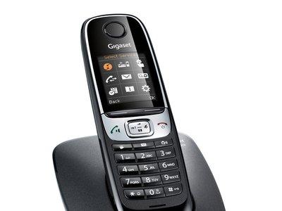 Teléfono fijo Gigaset C620, con pantalla a color y vigilabebés, por 44,99 euros y envío gratis