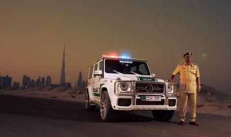 Brabus B63S–700 Widestar para la policía de Dubái