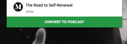 The Road To Self Renewal This Is A Speech By John Gardner By Jvnto Jvnto Medium
