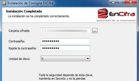 EnCifra, sencilla utilidad para el cifrado de carpetas y archivos