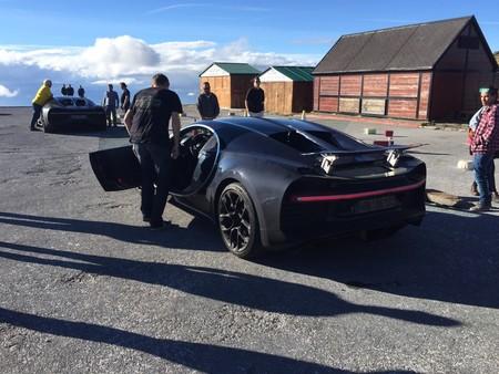Cuatro Bugatti Chiron están de paseo por España y en estos lugares puede que los hayas visto