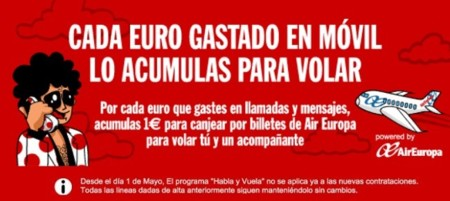 Pepephone elimina la posibilidad de canjear el consumo por vuelos gratis a nuevos clientes