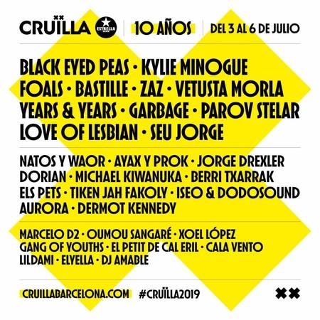 Cruilla Cartel 2019