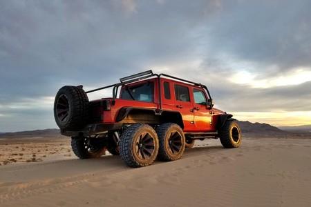 Jeep Wrangler Hellcat 6x6 7