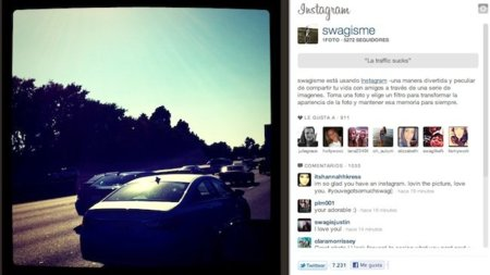 Sobre Instagram y un tsunami llamado Justin Bieber