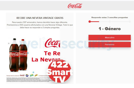 Phishing Whatsapp Coca Cola 2