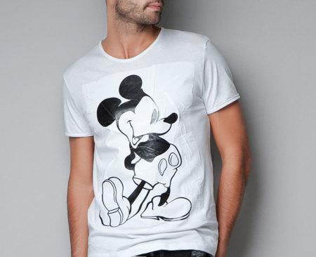 Camisetas Mickey Mouse en Zara