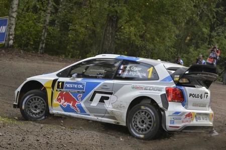 Rally de Finlandia 2014: Sébastien Ogier recupera la segunda plaza