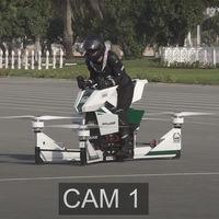 ¡Se lió! Un accidente con la moto voladora Hoverbike Scorpion-3 casi acaba en tragedia