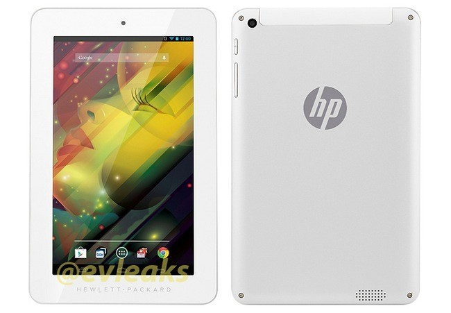 Filtrada imagen de la nueva tablet de HP con Android: marcos enormes