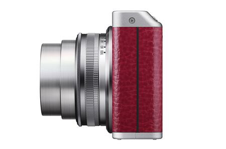 Fujifilm XF1 rojo vista lateral