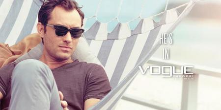 Jude Law en campaña de Vogue Eyewear