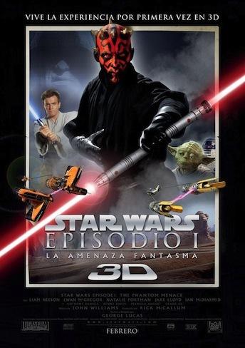 Star Wars: Episodio I La amenaza fantasma 3D