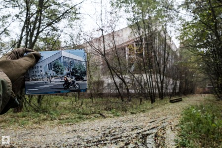 Pripyat Then And Now Lazurny Pool