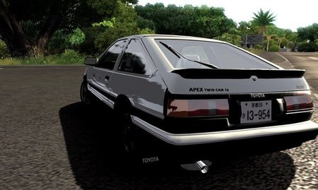 Toyota AE86 Trueno (1984)