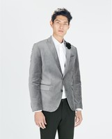 Americana gris de Zara