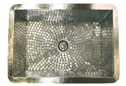 Lavabos decorativos en mosaicos de Linkasink