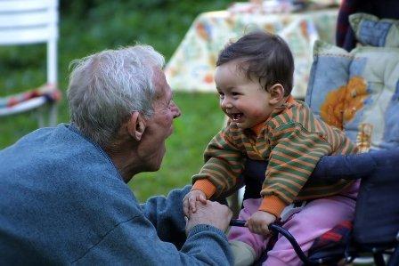 Si los abuelos viven lejos