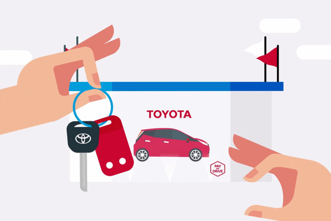 Toyota Pay per Drive