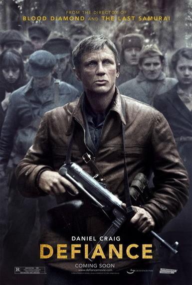 'Defiance' con Daniel Craig, teaser póster