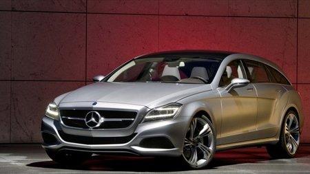 Mercedes CLS Shooting Brake 2012: hacia las dos versiones de cada modelo