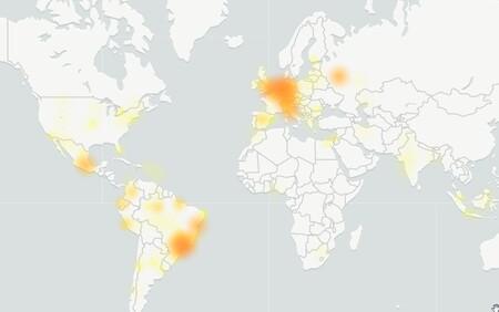 2020 12 17 20 03 48 Mapa De Fallos De Whatsapp Downdetector
