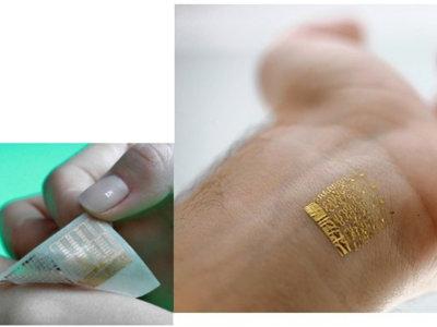 Lo último en wearables no son las pulseras cuantificadoras: son los tatuajes digitales