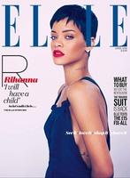 Por si no queríais portadas de Rihanna en Elle... ahí van cuatro