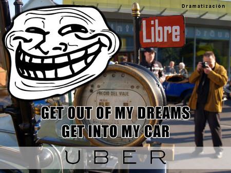 La otra cara de Uber y Lyft: conductores hartos de que los tomen por taxistas gritan #getthefuckoutofmycar