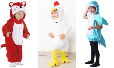 23 bonitos y originales disfraces de Carnaval para bebés y niños por menos de 20 euros