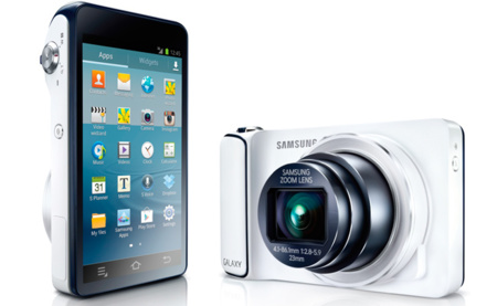 Samsung confirma la Samsung Galaxy Camera, su cámara digital bajo Android