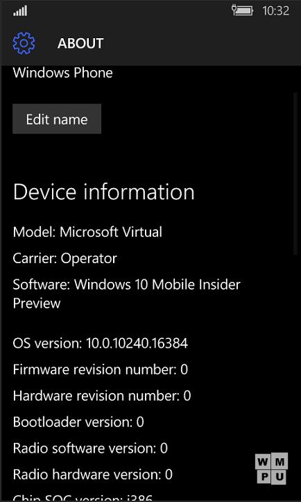 Foto de Windows 10 Mobile build 10240 (24/46)