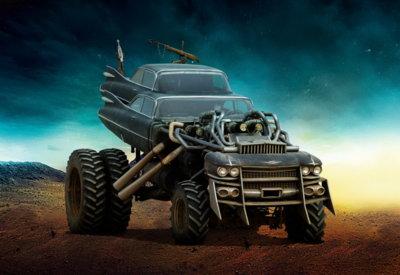 La locura de los autos de Mad Max: Fury Road