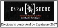 Diccionario conceptual de Espai Sucre
