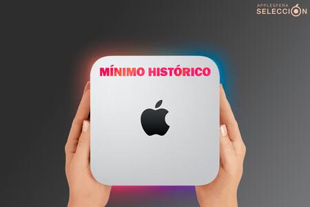 """El pequeño pero matón Mac mini M1 de 512 GB también tiene un precio """"mini"""" en Amazon: mínimo histórico de 851,30 euros [AGOTADO]"""