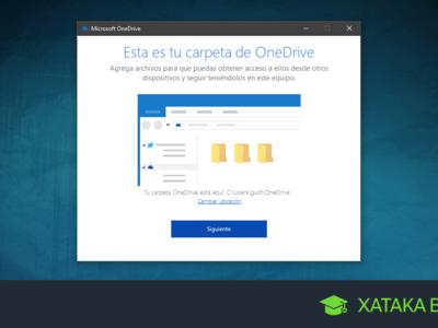 OneDrive en Windows 10: cambia la ubicación de la carpeta donde se sincronizan tus archivos