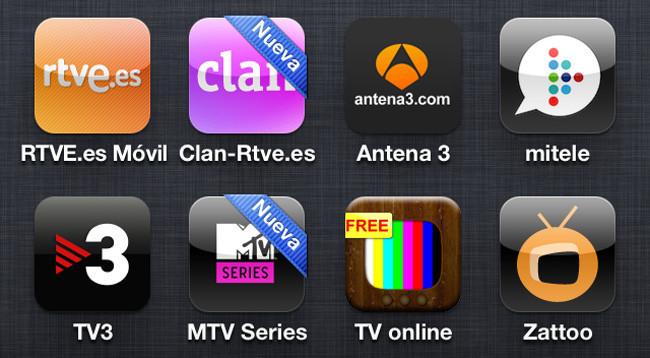 Televisión iphone 4