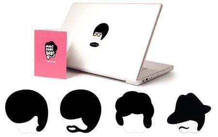 Stick with me, baby!, pegatas para personalizar tu MacBook
