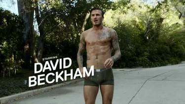 God Save David Beckham y lo bien que corre en calzoncillos