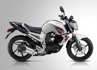 Yamaha Byson FZ16, como sus hermanas mayores pero económica