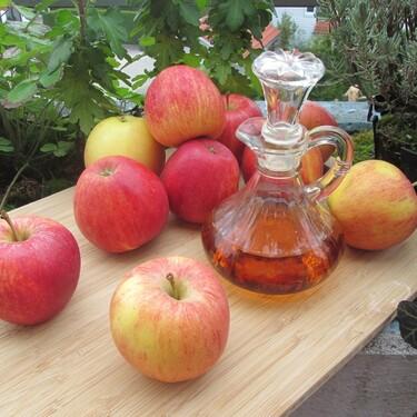 El vinagre de sidra de manzana sirve para desintoxicar el cuerpo
